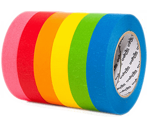 MCAT Normal Colored Concept Tape