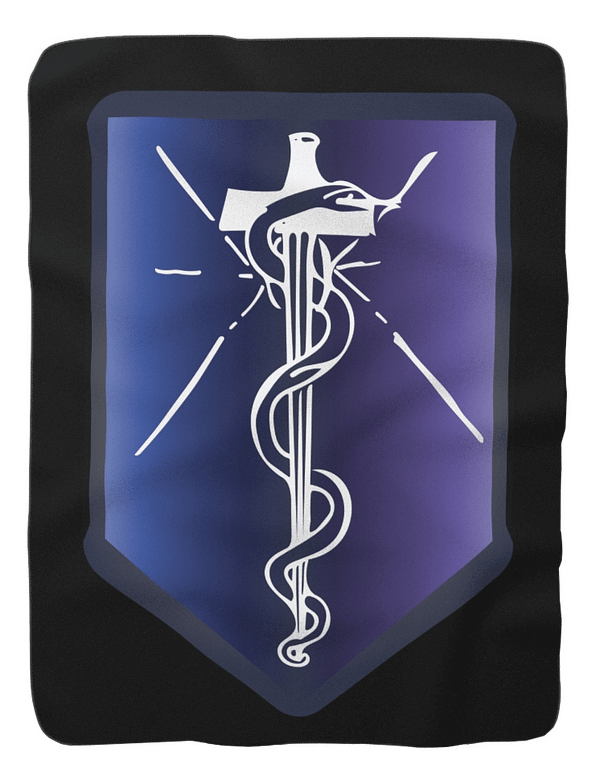 MCAT Adventurer Shield Blanket