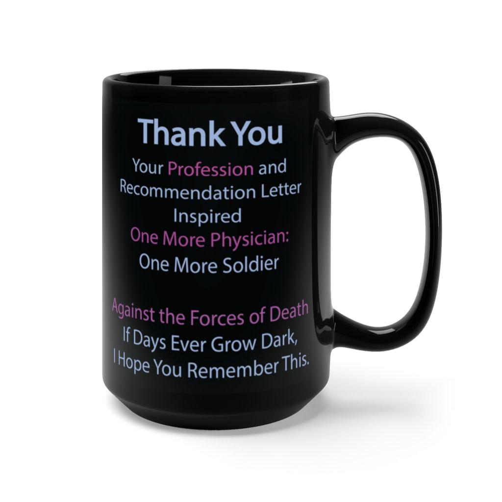 Medical School Letter of Recommendation Gratitude Mug